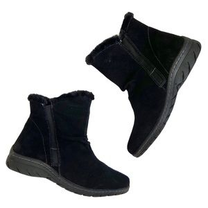 Sporto | Cary Suede Faux Fur Lined Snow Boots Sz 9
